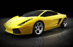 Cinema 4D Lamborghini Gallardo by JonAddison