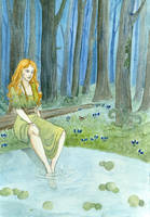 A witch in the woods. by akitku