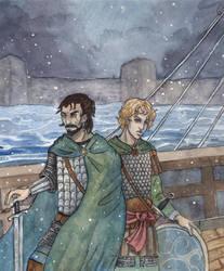Winter At Sea by akitku