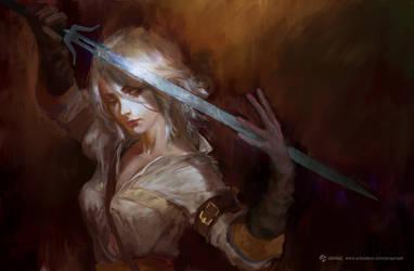 Ciri by fate-fiction
