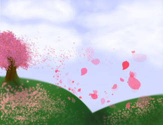 Cherry Wind by agi3330