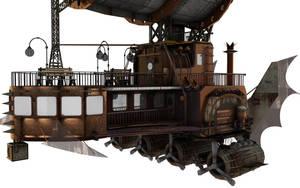 Steampunk Airship vol 2 by shaddam89