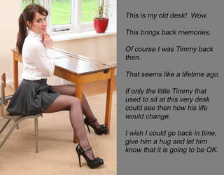 Timmy's Desk by Dioneigha