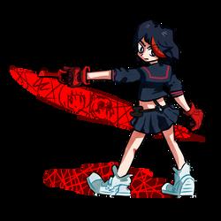 Ryuko Matoi by 4zumarill