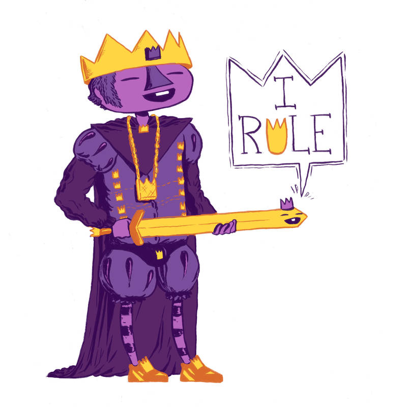 The King by MumblingIdiot
