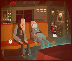 Space suit pensioners by MumblingIdiot