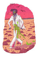 Zombie Elvis by MumblingIdiot