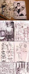 Septober Sketchbook by MumblingIdiot