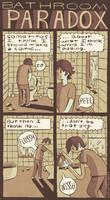 Bathroom Paradox by MumblingIdiot