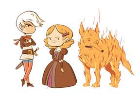 Spera Characters by MumblingIdiot