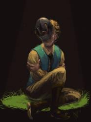 mourning mask by Brakkenimation