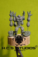 4-Armed Martian Master by BlackHoleInAJar
