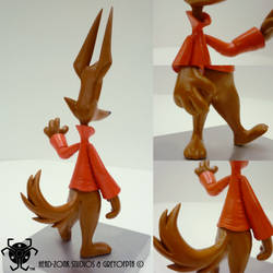 GreyOfPTA's 3D Printed Fanboy Figure - Alt Angles by BlackHoleInAJar