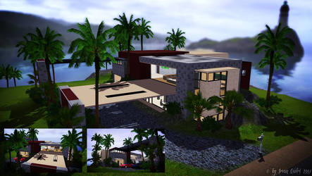 Modern Mansion at Sea Cliff by IrvanQadri