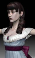 Cecilia Zbrush Sculpt by GemmaSuen