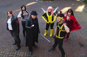 X-men Cosplay group by GemmaSuen