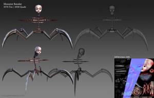 Dissonance: Monster Model by GemmaSuen