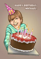 Happy Birthday Michael! by GemmaSuen