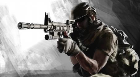 soldier sketch by JosephQiuArt