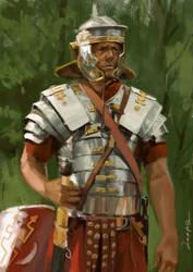 Roman sketch03 by JosephQiuArt