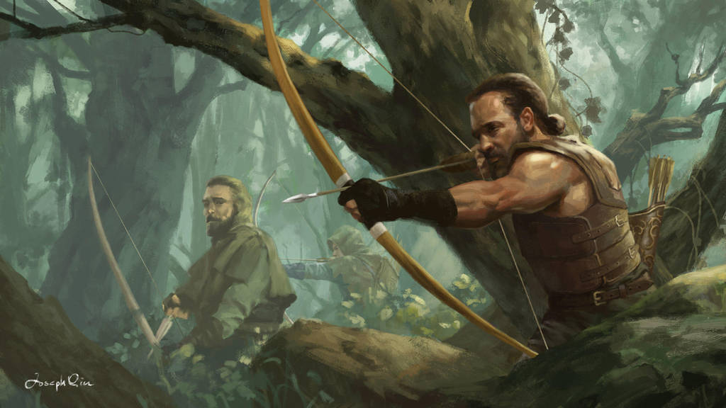 Jungle Rangers by JosephQiuArt