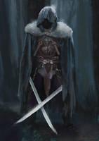 Swordman-sketch by JosephQiuArt