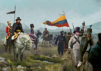 Simon Bolivar by JosephQiuArt