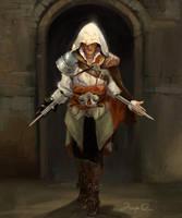 Assassin's Creed fan art by JosephQiuArt