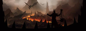 Mordor with SPIKES by tobylewin