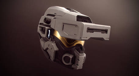 Halo 4 Helmet by tobylewin
