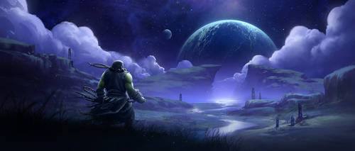 World of Warcraft Draenor Fan Art by tobylewin