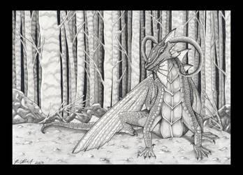 Forest Dragon by Ravenari