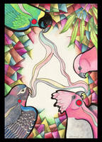 Parrot Totem by Ravenari