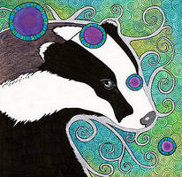 Lisa's Badger by Ravenari