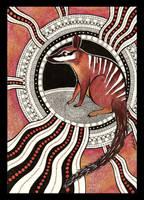 Numbat as Totem by Ravenari