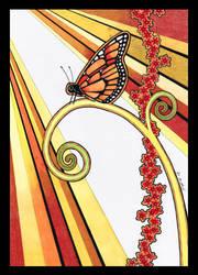 Monarch Butterfly as Totem by Ravenari