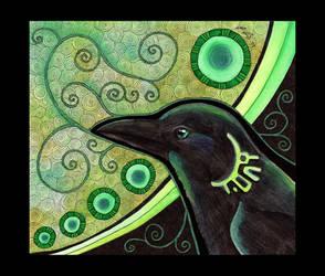 Crow as Totem by Ravenari