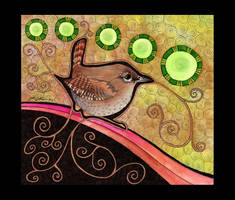 Winter Wren as Totem by Ravenari