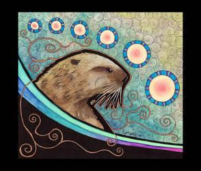 Sea Otter as Totem by Ravenari