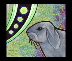 Lop-Eared Rabbit as Totem by Ravenari