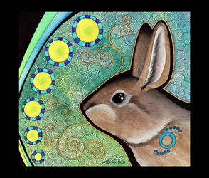 Wild Rabbit as Totem by Ravenari