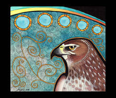 Northern Harrier as Totem by Ravenari