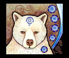 Kermode Bear as Totem by Ravenari