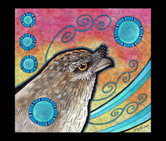 Tawny Frogmouth as Totem - 02 by Ravenari