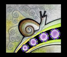 Snail as Totem - 02 by Ravenari