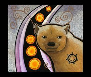 Bushdog as Totem by Ravenari