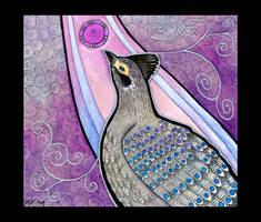 Peacock Pheasant as Totem by Ravenari