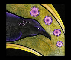 Australian Raven 02 as Totem by Ravenari