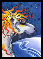 Oooshala - The Waterhorse by Ravenari