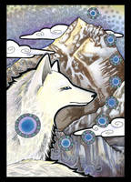 Everest and the White Fox by Ravenari